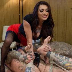 Jessy Dubai in 'Kink TS' Cleans Up Pervert Custodian (Thumbnail 1)