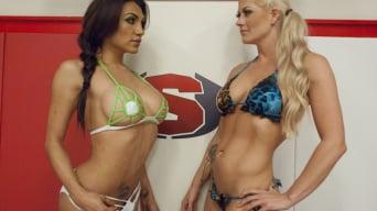 Jessy Dubai in 'Ultimate Sex Fight Championship Bout! Winner fucks Loser Any WAY!'