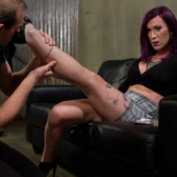 Jonah Marx in 'Kink TS' TS Film directors works her actors with her GIANT HARD COCK! (Thumbnail 2)