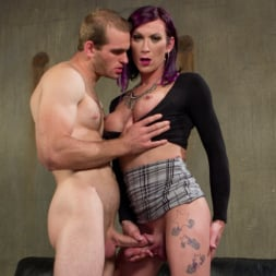 Jonah Marx in 'Kink TS' TS Film directors works her actors with her GIANT HARD COCK! (Thumbnail 3)