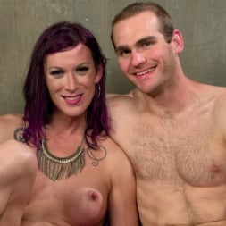 Jonah Marx in 'Kink TS' TS Film directors works her actors with her GIANT HARD COCK! (Thumbnail 9)