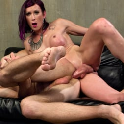 Jonah Marx in 'Kink TS' TS Film directors works her actors with her GIANT HARD COCK! (Thumbnail 10)