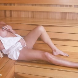 Jonelle Brooks in 'Kink TS' Sauna Strangers fuck and do a Nasty CreamPie (Thumbnail 2)