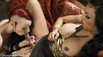 Kajira Bound in 'is TS Jessy Dubai's sex slave'