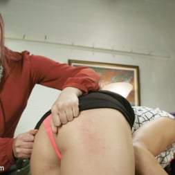 Kassondra Raine in 'Kink TS' gets a dose of co-worker cock (Thumbnail 2)