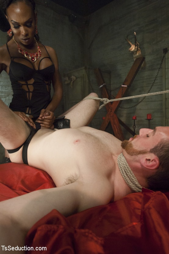 Kink TS 'wakes from Her Vampire Sleep Cock, Ass and Cum Hungry!' starring Kayla Biggs (Photo 6)