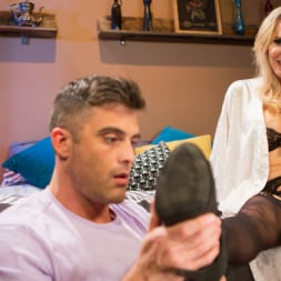 Kayleigh Coxx in 'Kink TS' Pervert Mouth: Kayleigh Coxx Catches a Peeping Tom with a Foot Fetish. (Thumbnail 3)