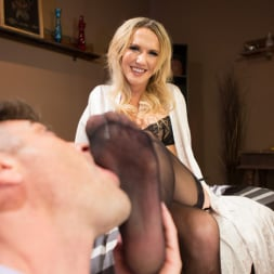 Kayleigh Coxx in 'Kink TS' Pervert Mouth: Kayleigh Coxx Catches a Peeping Tom with a Foot Fetish. (Thumbnail 4)