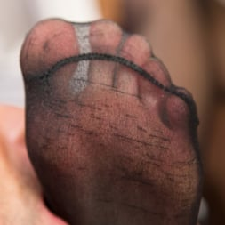 Kayleigh Coxx in 'Kink TS' Pervert Mouth: Kayleigh Coxx Catches a Peeping Tom with a Foot Fetish. (Thumbnail 5)