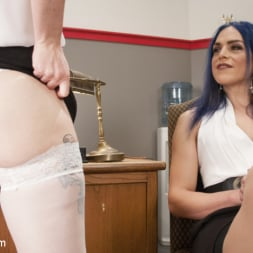 Kelli Lox in 'Kink TS' Barbary Rose will do Anything for a Loan. (Thumbnail 2)