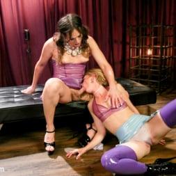 Kelli Lox in 'Kink TS' CamGirls After Hours: Kelli Lox fucks submissive co-worker Mona Wales (Thumbnail 20)