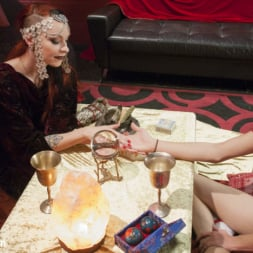 Kelly Klaymour in 'Kink TS' Lost and confused College Girl seeks advice from a seductive Psychic. (Thumbnail 4)