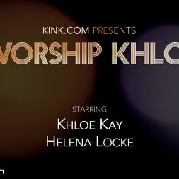 Khloe Kay in 'Kink TS' Worship Khloe: Submissive Helena Locke Devotes Herself to Mistress Kay (Thumbnail 23)