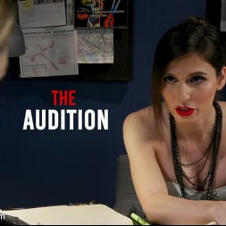 Korra Del Rio in 'Kink TS' The Audition: Korra Del Rio Puts Young Model Bunny Colby to the Test (Thumbnail 1)