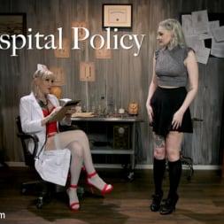 Lena Kelly in 'Kink TS' Hospital Policy: Nurse Lena Gives Arielle a Naughty Check Up (Thumbnail 1)