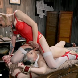 Lena Kelly in 'Kink TS' Hospital Policy: Nurse Lena Gives Arielle a Naughty Check Up (Thumbnail 8)