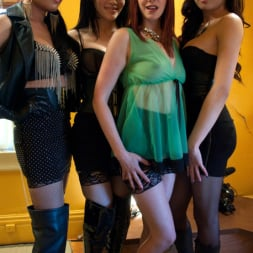 Maitresse Madeline Marlowe in 'Kink TS' ARCHIVE UPDATE: GANG BANG ORGY! 3 TS WOMEN DOMMING MAITRESSE MADELINE (Thumbnail 15)