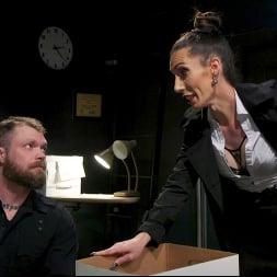 Melanie Brooks in 'Kink TS' Pulling Rank: Dirty Hot Cop Melanie Brooks Fucks Evidence Room Boy (Thumbnail 1)