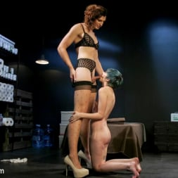 Mercy West in 'Kink TS' Shelter Slut: Mercy West and Allysa Etain Fuck to save humanity! (Thumbnail 7)