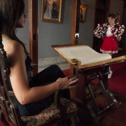Michelle Firestone in 'Kink TS' The Cheer Squad Girl and The Vampire - Michelle Firestone devours Bianca (Thumbnail 1)