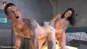 Morgan Bailey in 'A Deadly Perversion: Her cock owns your soul!'