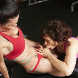 Morgan Bailey in 'Kink TS' Hard Body Trainer seduces fitness Client and Cums in her ass (Thumbnail 3)