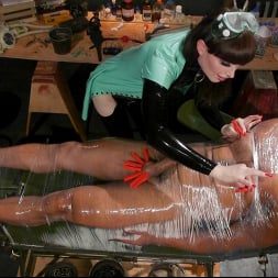 Natalie Mars in 'Kink TS' Latex Predator: Natalie Mars Captures and Fucks Dillon Diaz (Thumbnail 9)