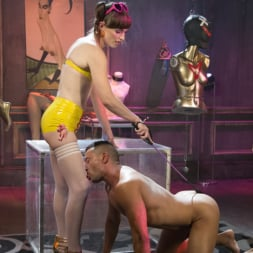 Natalie Mars in 'Kink TS' Cuckolds the World: TS Star pounds slave, delivers JOI (Thumbnail 10)