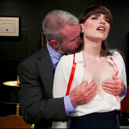 Natalie Mars in 'Kink TS' Schoolgirl Snitch: Natalie Mars Punished and Fucked by Headmaster (Thumbnail 6)
