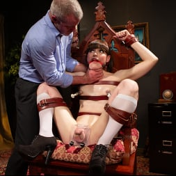 Natalie Mars in 'Kink TS' Schoolgirl Snitch: Natalie Mars Punished and Fucked by Headmaster (Thumbnail 8)