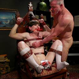 Natalie Mars in 'Kink TS' Schoolgirl Snitch: Natalie Mars Punished and Fucked by Headmaster (Thumbnail 13)