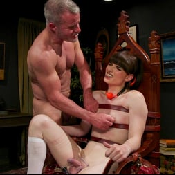 Natalie Mars in 'Kink TS' Schoolgirl Snitch: Natalie Mars Punished and Fucked by Headmaster (Thumbnail 14)