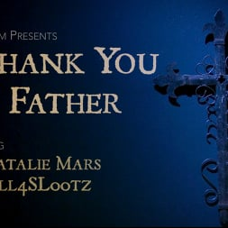 Natalie Mars in 'Kink TS' Thank You Father: Sister Natalie Mars Suffers for Her Desires (Thumbnail 1)