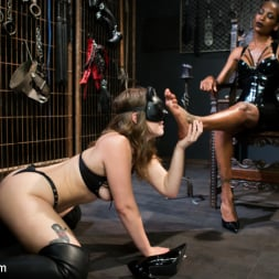 Natassia Dreams in 'Kink TS' Natassia Dreams' Slutty Leather Sex Kitten, Ella Nova (Thumbnail 2)
