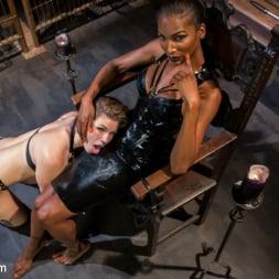 Natassia Dreams in 'Kink TS' Natassia Dreams' Slutty Leather Sex Kitten, Ella Nova (Thumbnail 3)