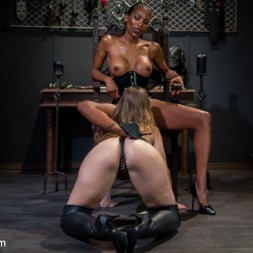 Natassia Dreams in 'Kink TS' Natassia Dreams' Slutty Leather Sex Kitten, Ella Nova (Thumbnail 6)