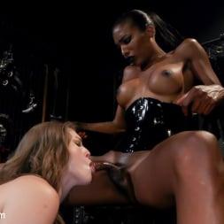 Natassia Dreams in 'Kink TS' Natassia Dreams' Slutty Leather Sex Kitten, Ella Nova (Thumbnail 7)