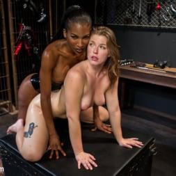 Natassia Dreams in 'Kink TS' Natassia Dreams' Slutty Leather Sex Kitten, Ella Nova (Thumbnail 10)