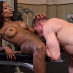 Natassia Dreams in 'Kink TS' pumps her cock deep into muscle boys hungry asshole! (Thumbnail 7)