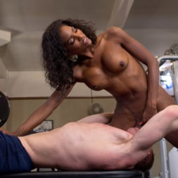 Natassia Dreams in 'Kink TS' pumps her cock deep into muscle boys hungry asshole! (Thumbnail 9)