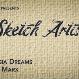 Natassia Dreams in 'Kink TS' The Sketch Artist: Model Natassia Dreams Punishes Pathetic Creep (Thumbnail 1)