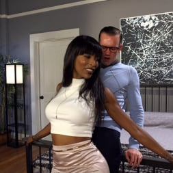 Natassia Dreams in 'Kink TS' Will Havoc Has Every Hole and Dream Satisfied by Sexy Black Cock (Thumbnail 13)