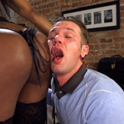 Natassia Dreams in 'Kink TS' Will Havoc Has Every Hole and Dream Satisfied by Sexy Black Cock (Thumbnail 22)