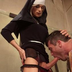 Nina Lawless in 'Kink TS' Bad Habits: Pray to her cock! (Thumbnail 11)