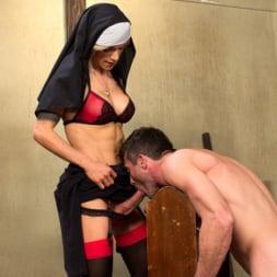 Nina Lawless in 'Kink TS' Bad Habits: Pray to her cock! (Thumbnail 12)