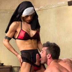 Nina Lawless in 'Kink TS' Bad Habits: Pray to her cock! (Thumbnail 13)