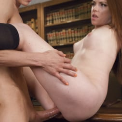 Nina Lawless in 'Kink TS' College Web Cam Model Gets Scolding from a Hot TS Dean (Thumbnail 12)
