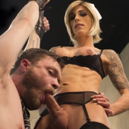 Nina Lawless in 'Kink TS' and her HUGE, HUNGRY, HARD cock make an EXPLOSIVE debut! (Thumbnail 1)