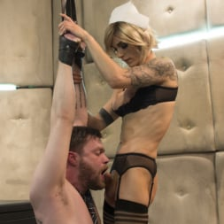 Nina Lawless in 'Kink TS' and her HUGE, HUNGRY, HARD cock make an EXPLOSIVE debut! (Thumbnail 3)