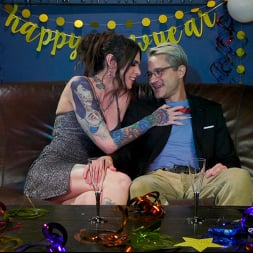 Sherman Maus in 'Kink TS' New Years Bang: Chelsea Marie Frees Butt Slut From Chastity (Thumbnail 1)
